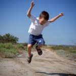 Happy Jumping Child by chrisrol